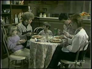 Des Clarke, Rodney Langdon, Joan Langdon, Susan Langdon in Neighbours Episode 0099