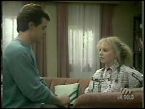 Paul Robinson, Terry Inglis in Neighbours Episode 0100