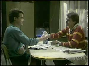 Paul Robinson, Shane Ramsay in Neighbours Episode 0100