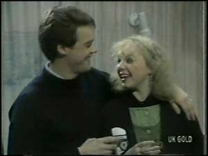 Paul Robinson, Terry Inglis in Neighbours Episode 0101