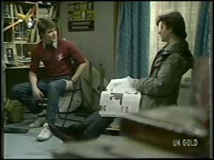 Scott Robinson, Danny Ramsay in Neighbours Episode 0101