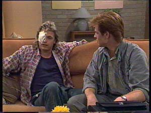 Shane Ramsay, Clive Gibbons in Neighbours Episode 0409
