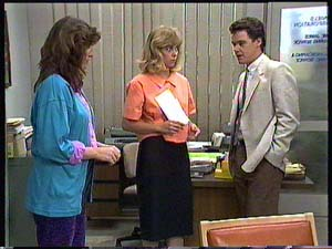 Susan Cole, Jane Harris, Paul Robinson in Neighbours Episode 0409
