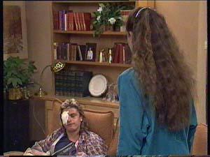 Shane Ramsay, Kelly Morgan in Neighbours Episode 0409