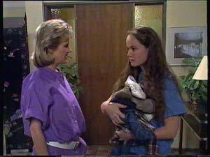 Kelly Morgan, Daphne Clarke in Neighbours Episode 0410