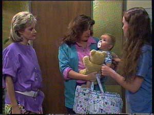 Daphne Clarke, Kelly Morgan, Sam Cole, Susan Cole in Neighbours Episode 0410