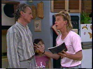 Jim Robinson, Lucy Robinson, Scott Robinson in Neighbours Episode 0410