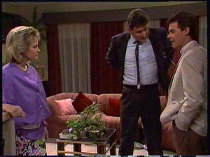 Daphne Clarke, Des Clarke, Paul Robinson in Neighbours Episode 0411