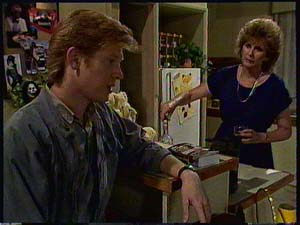 Clive Gibbons, Madge Bishop in Neighbours Episode 0411