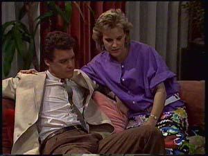 Paul Robinson, Daphne Clarke in Neighbours Episode 0411