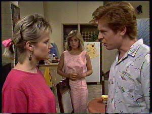 Clive Gibbons, Jane Harris, Daphne Clarke in Neighbours Episode 0411