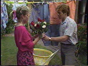 Daphne Clarke, Clive Gibbons in Neighbours Episode 0411