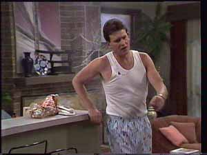 Des Clarke in Neighbours Episode 0413