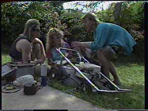 Shane Ramsay, Charlene Mitchell, Scott Robinson in Neighbours Episode 0414