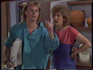 Scott Robinson, Madge Bishop in Neighbours Episode 0414