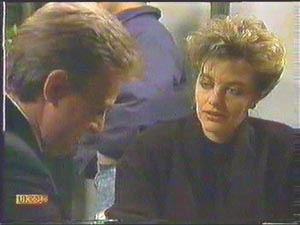 Glen Matheson, Gail Robinson in Neighbours Episode 0583