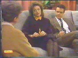 Nell Mangel, Gail Robinson, Paul Robinson in Neighbours Episode 0586