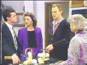 Gail Robinson, Paul Robinson, Helen Daniels, Jim Robinson in Neighbours Episode 0588