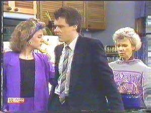 Gail Robinson, Paul Robinson, Helen Daniels in Neighbours Episode 0588