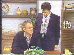 Paul Robinson, Jim Robinson in Neighbours Episode 0588