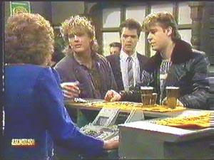 Kenny Larkin, Paul Robinson, Henry Ramsay, Madge Bishop in Neighbours Episode 0588