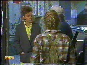 Charlene Mitchell, Rob Lewis, Gail Robinson in Neighbours Episode 0592