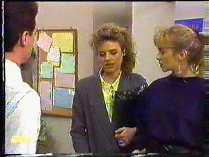 Paul Robinson, Gail Robinson, Jane Harris in Neighbours Episode 0592