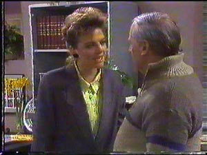 Gail Robinson, Rob Lewis in Neighbours Episode 0592