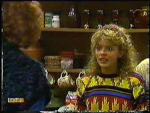 Madge Bishop, Charlene Mitchell in Neighbours Episode 0594