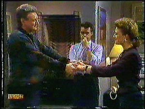 Glen Matheson, Paul Robinson, Gail Robinson in Neighbours Episode 0594