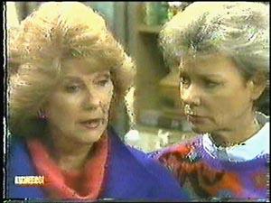Madge Bishop, Helen Daniels in Neighbours Episode 0596