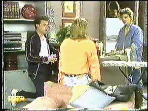 Gail Robinson, Paul Robinson, Scott Robinson in Neighbours Episode 0596