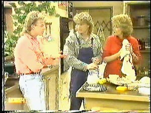 Scott Robinson, Henry Ramsay, Madge Bishop in Neighbours Episode 0596