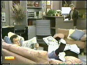 Paul Robinson, Gail Robinson in Neighbours Episode 0596