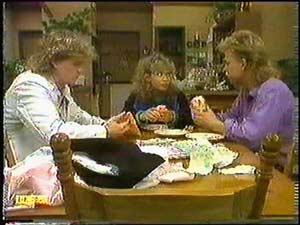 Henry Ramsay, Charlene Mitchell, Scott Robinson in Neighbours Episode 0597