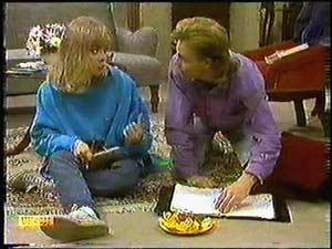 Jane Harris, Scott Robinson in Neighbours Episode 0597