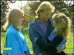 Jane Harris, Charlene Mitchell, Scott Robinson in Neighbours Episode 0597