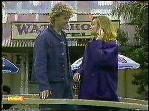 Henry Ramsay, Sally Wells in Neighbours Episode 0599