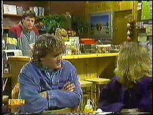 Mike Young, Henry Ramsay, Sally Wells in Neighbours Episode 0599