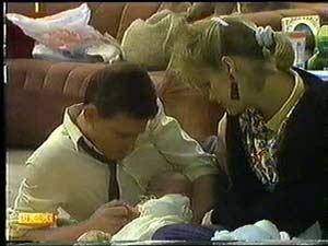 Daphne Clarke, Des Clarke, Jamie Clarke in Neighbours Episode 0600