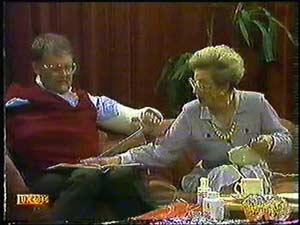 Eileen Clarke, Harold Bishop in Neighbours Episode 0600