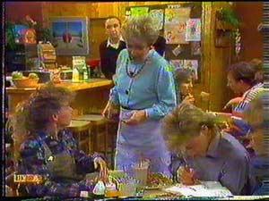 Charlene Robinson, Eileen Clarke, Scott Robinson in Neighbours Episode 0601