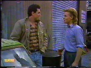 Greg Cooper, Scott Robinson in Neighbours Episode 0601