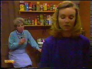 Eileen Clarke, Sally Wells in Neighbours Episode 0601