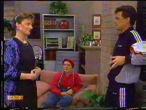 Gail Robinson, Lucy Robinson, Paul Robinson in Neighbours Episode 0602