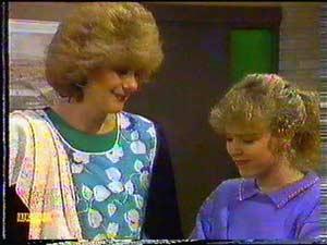 Madge Bishop, Charlene Mitchell in Neighbours Episode 0602