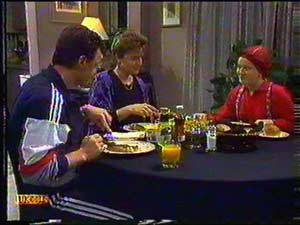 Paul Robinson, Gail Robinson, Lucy Robinson in Neighbours Episode 0602