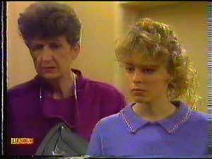 Nell Mangel, Charlene Mitchell in Neighbours Episode 0602