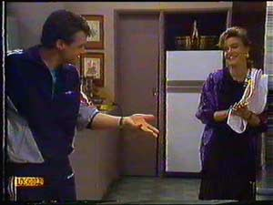 Paul Robinson, Gail Robinson in Neighbours Episode 0602