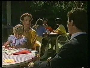 Amy Williams, Nina Williams, Paul Robinson in Neighbours Episode 0734